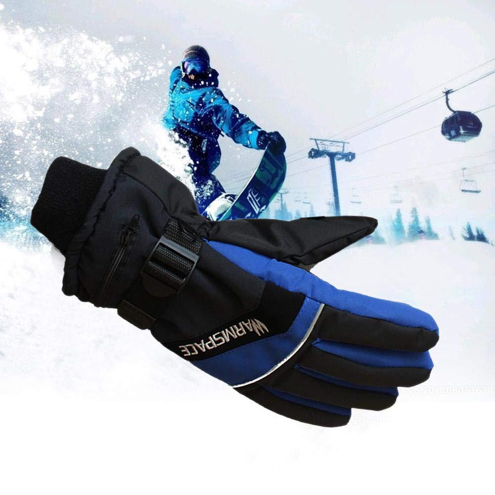 Dough.Q Winter Ski USB Handw/ärmer Elektrische Thermohandschuhe 1 Paar 4000 mAh Akku Beheizte Finger Warm Konstante Temperatur H/ände Handschuhe Radfahren Motorrad Fahrrad Smart Handschuhe f/ür M/änner