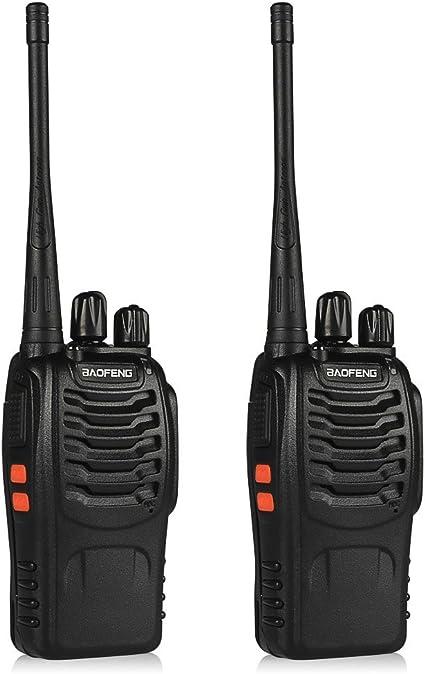 4 x Baofeng Walkie Talkie 2Way Radio Handheld Long Range Marine Police 16CH GMRS