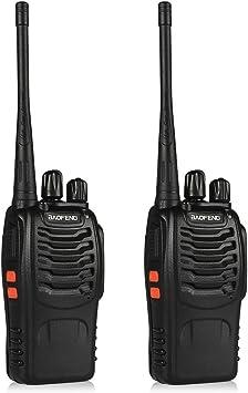 4x Baofeng BF-888S UHF 400-470MHz Two-way Ham Radio 5W CTCSS 16CH Walkie Talkie