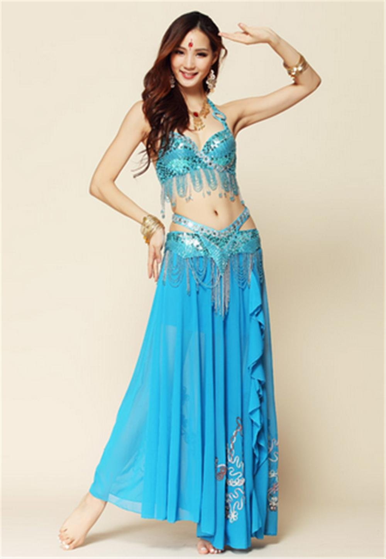 7f2848fb3 peiwen Woman s belly dancing costume suit Indian dance show dress ...