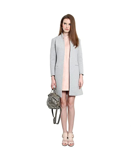 Amazon Her Velvet Vase Womens Twiggy Wool Long Coat Clothing