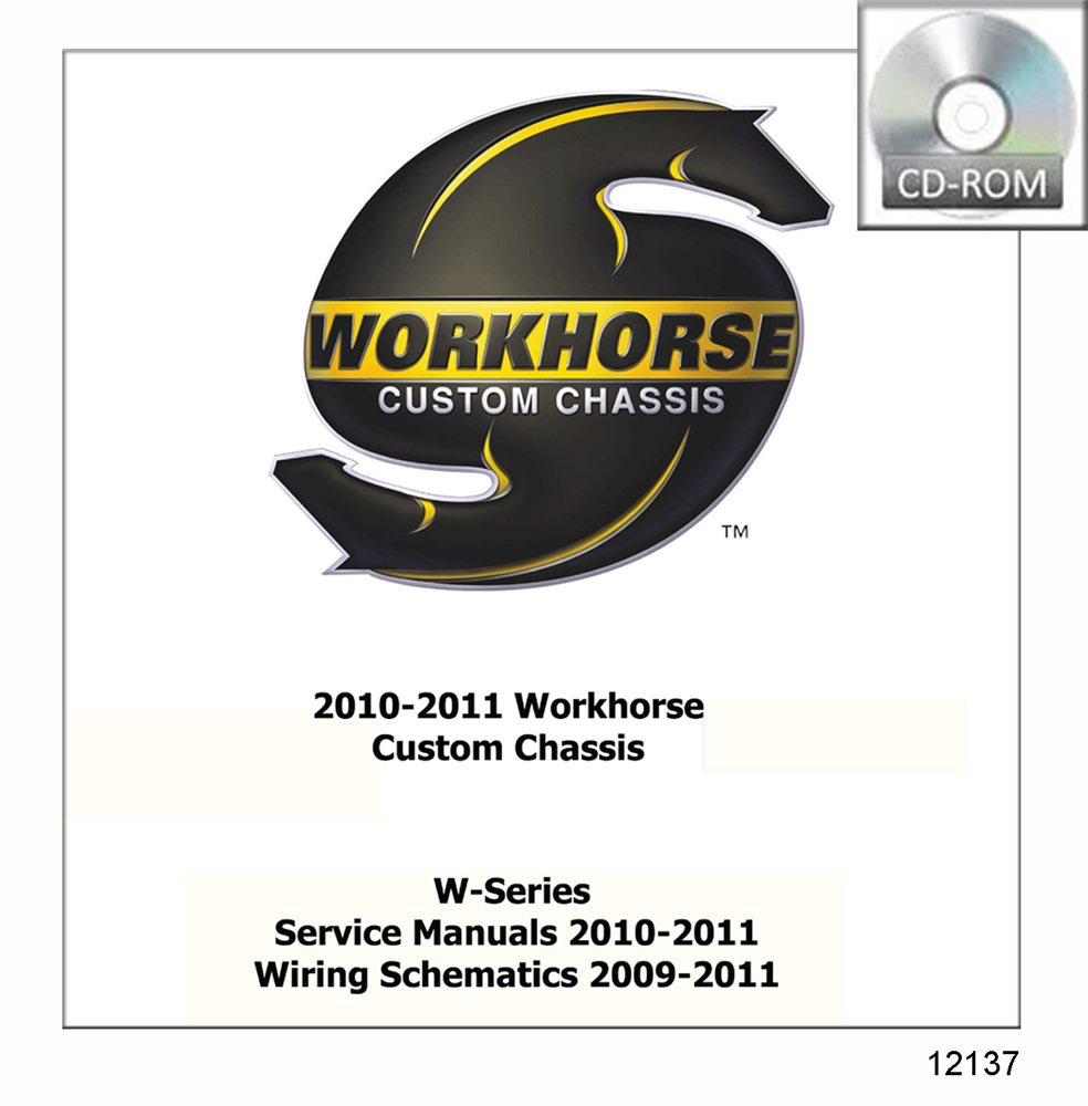 Bishko Automotive Literature 2010 2011 Workhorse W 2004 Wiring Diagram Series Shop Service Repair Manual Cd Engine Electrical Oem