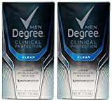 Degree Men Clinical Antiperspirant, Clean, 1.7