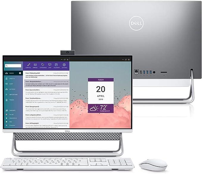 "Computador All in One Dell Inspiron 5490-MS30S 10ª Ger. Intel Core i7 8GB 256GB SSD Placa Vídeo NVIDIA 23.8"" Windows 10 por Dell"