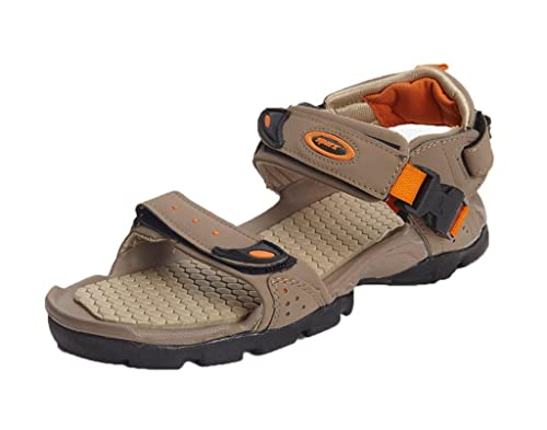 c498c80691f Sparx Men s Sandals and Floaters (SM-502-CAMEL)  Buy Online at Low ...