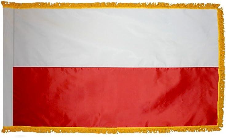 POLAND  5ft x 3ft Flag