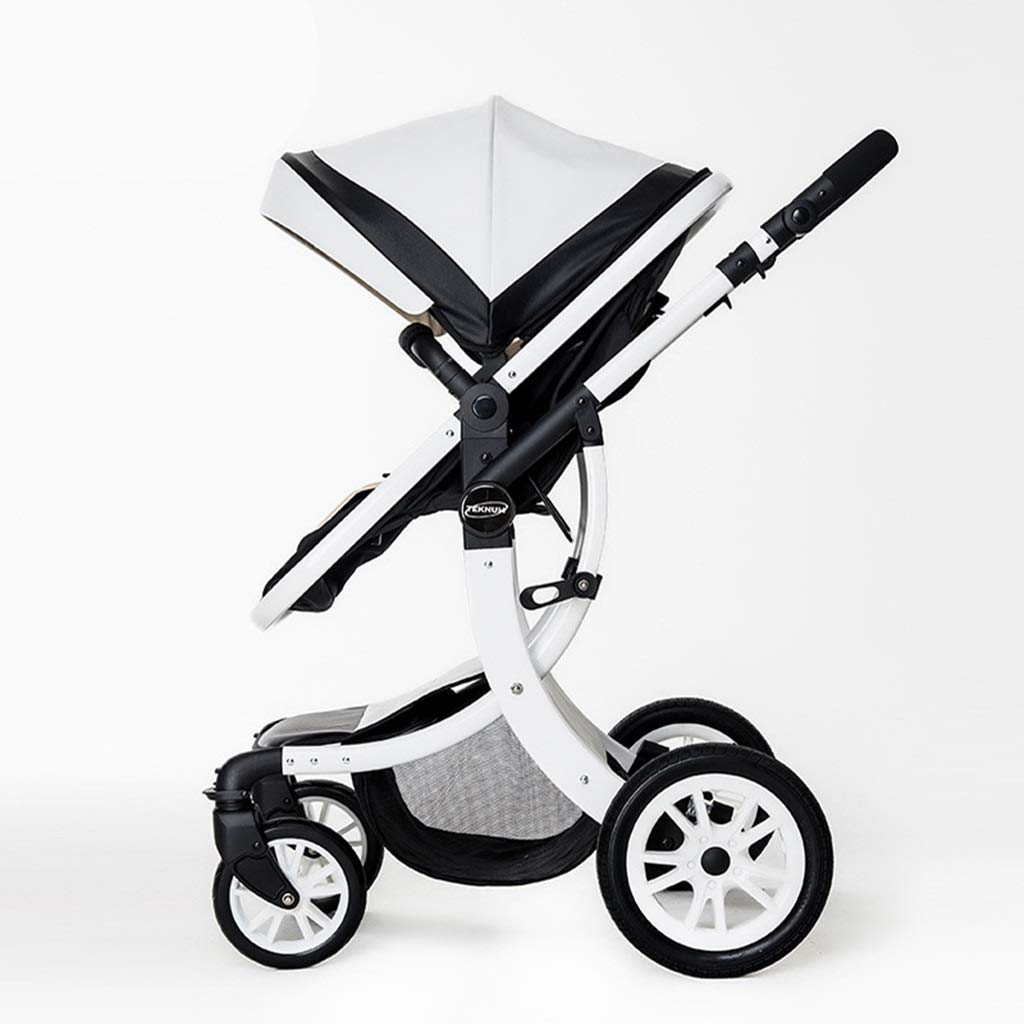 ZCY Pushchair,Folding Two-Way Driving High Landscape Off The Ground 55cm