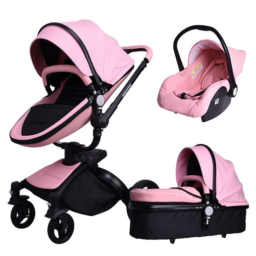 Amazon Com Baby Stroller Babyfond 3 In 1 Baby Carriage Travel