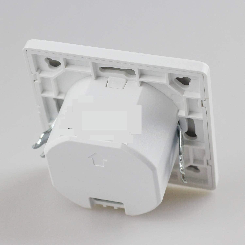 Detector de movimiento para uso en interiores y exteriores sensor de movimiento de 180 grados montado en superficie adecuado para montar en el techo interruptor de luz LED IP20 pared o tejado