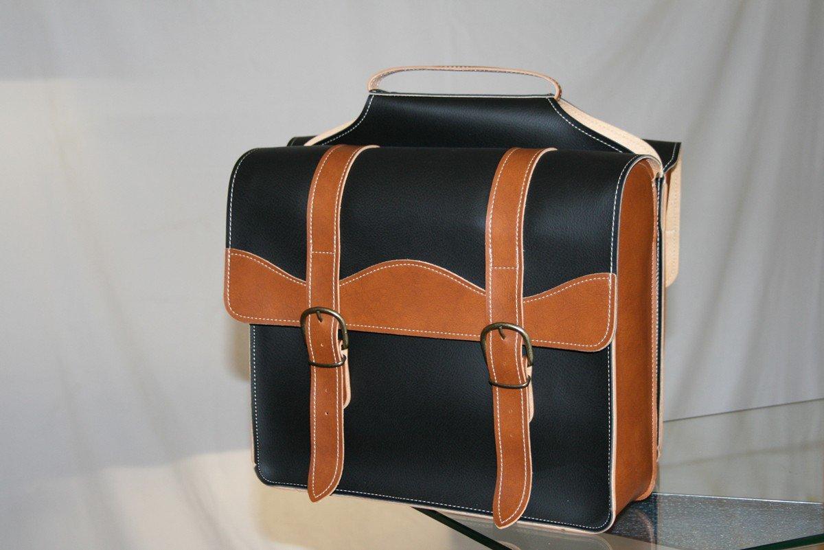 Style Motard Veste cir/ée pour Homme Walker /& Hawkes Marron Ceinture//4 Poches//imperm/éable