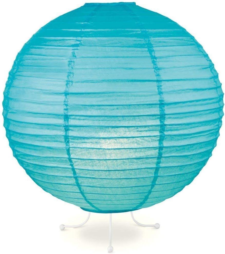 Home Sweet Home Lampion Lampe Bleu /Ø 40 cm