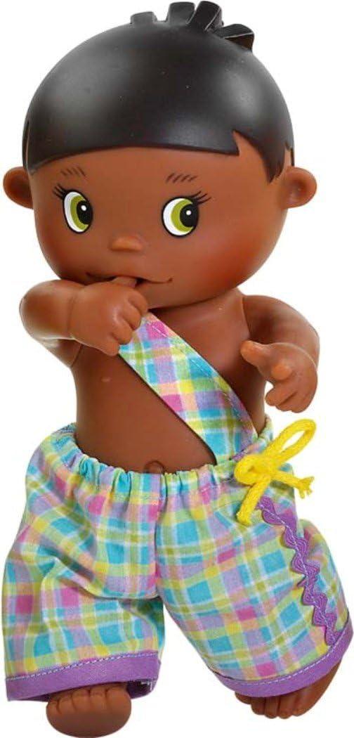 Amazon.es: Paola Reina - Telmo, muñeco bebé negrito, de Vinilo, 22 cm (23568): Juguetes y juegos