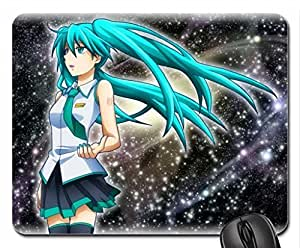 Hatsune Miku Mouse Pad, Mousepad (10.2 x 8.3 x 0.12 inches) by ruishername