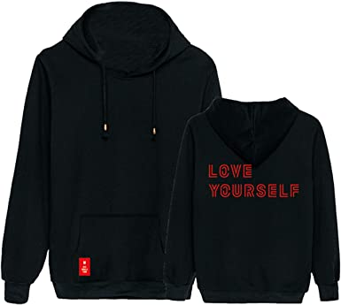 babyhealthy Kpop Bangtan Boys Album Love Yourself Hoodie Jimin Suga Jung Kook Pullover Sweatshirt Jacket Merch