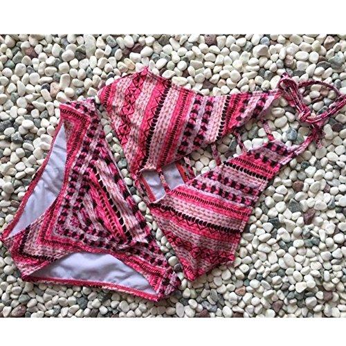 SZH YIBI Señora bikini señoras de natación traje de alta elástico de estilo spend vermicelli