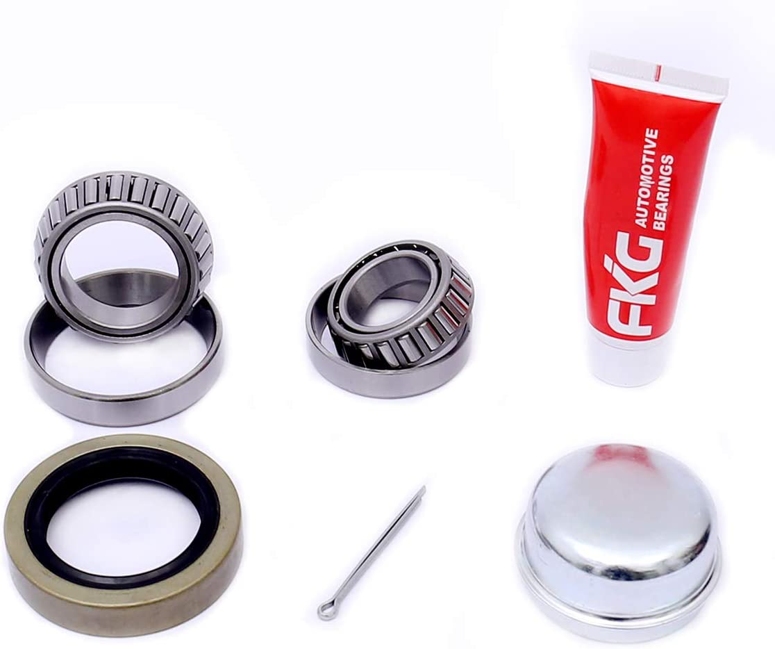 FKG Trailer Bearing Kit for 1-3/8 Inch to 1-1/16 Inch Tapered Spindles