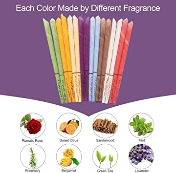 24 PCS Coni per orecchie Colorful Con colori e profumi diversi Candela di cerume Naturale Non Tossico Cera Dapi Cono rimozione del cerume candele dellorecchio