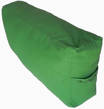 Amazon.com: Bolster de yoga Leg/Back Cushion Apoyo para ...