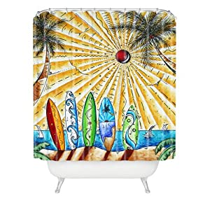 61Y98yQ3m3L._SS300_ 200+ Beach Shower Curtains and Nautical Shower Curtains