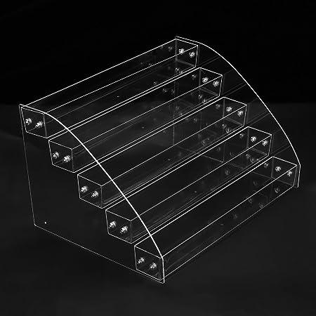 Asixx Caja Gafas, Organizador para Gafas, Caja para Gafas de Sol, Caja para Pintauñas, para Guardar Gafas de Sol(Cinco Piso): Amazon.es: Hogar