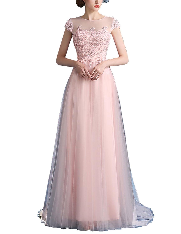 Great Bright Women's Bubble Hem Short Sleeve Dress pink pink 10