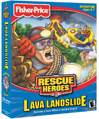 Fisher-Price Rescue Heroes: Lava Landslide - PC/Mac