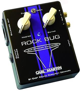 Carl Martin Rock Bug CM-RB - Pedal de efectos para guitarra eléctrica: Amazon.es: Instrumentos musicales