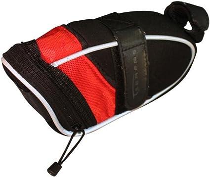 Serfas EV-3 Super-Light Large Saddle Bag Black//Red