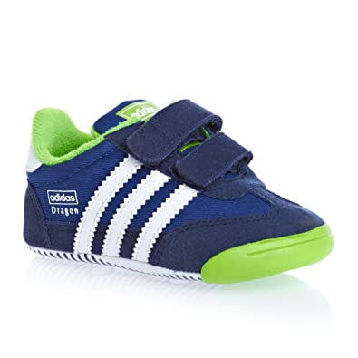 official photos 6bba6 9637d Adidas Originals Learn2walk Dragon Cf I Trainers - Collegiate Royal   Running White  New Navy