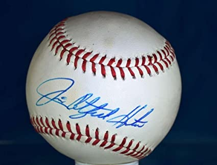 bb6769ae4c8 Signed Jim Catfish Hunter Baseball - American League - PSA DNA Certified - Autographed  Baseballs