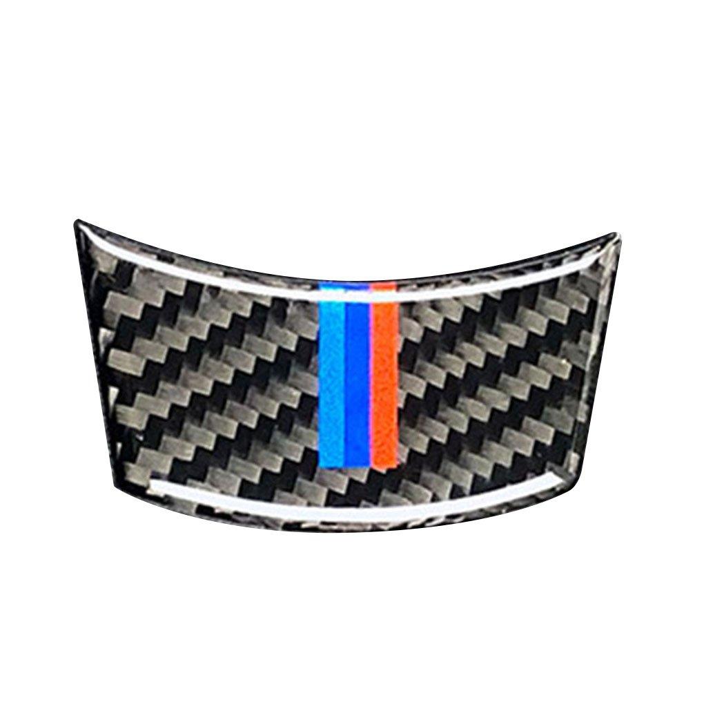 Uzinb F¨ ¹ r BMW 2004-2010 5er E60 Carbon-Faser-M-Streifen Auto Lenkradbezug Trim-Innendekor-Aufkleber Zubeh?r