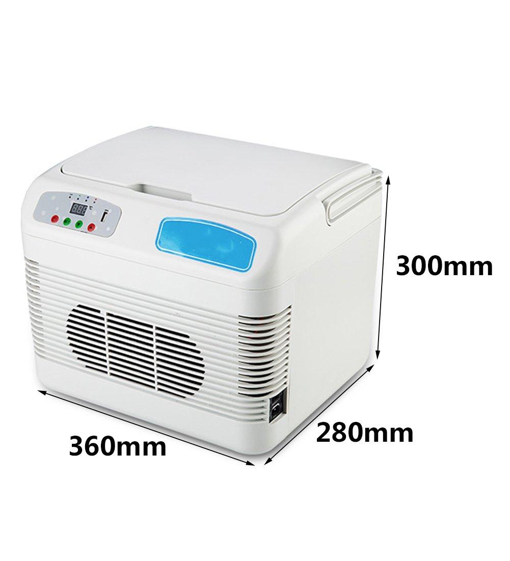 //220V AC Car Home LIQICAI Portable Insulin Refrigerator Cooler Intelligent Electrical Cool Box//12V DC