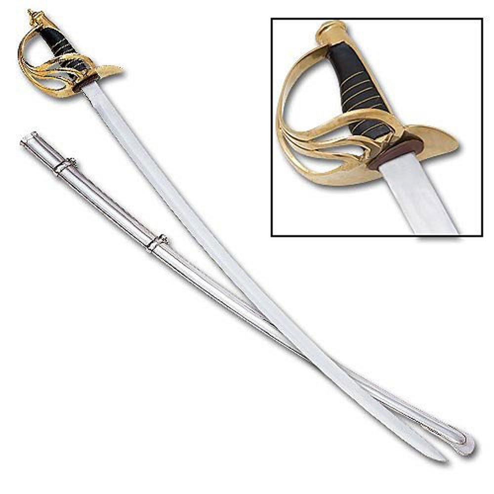 U.S. Model 1860 Light Cavalry War Replica Sword 6
