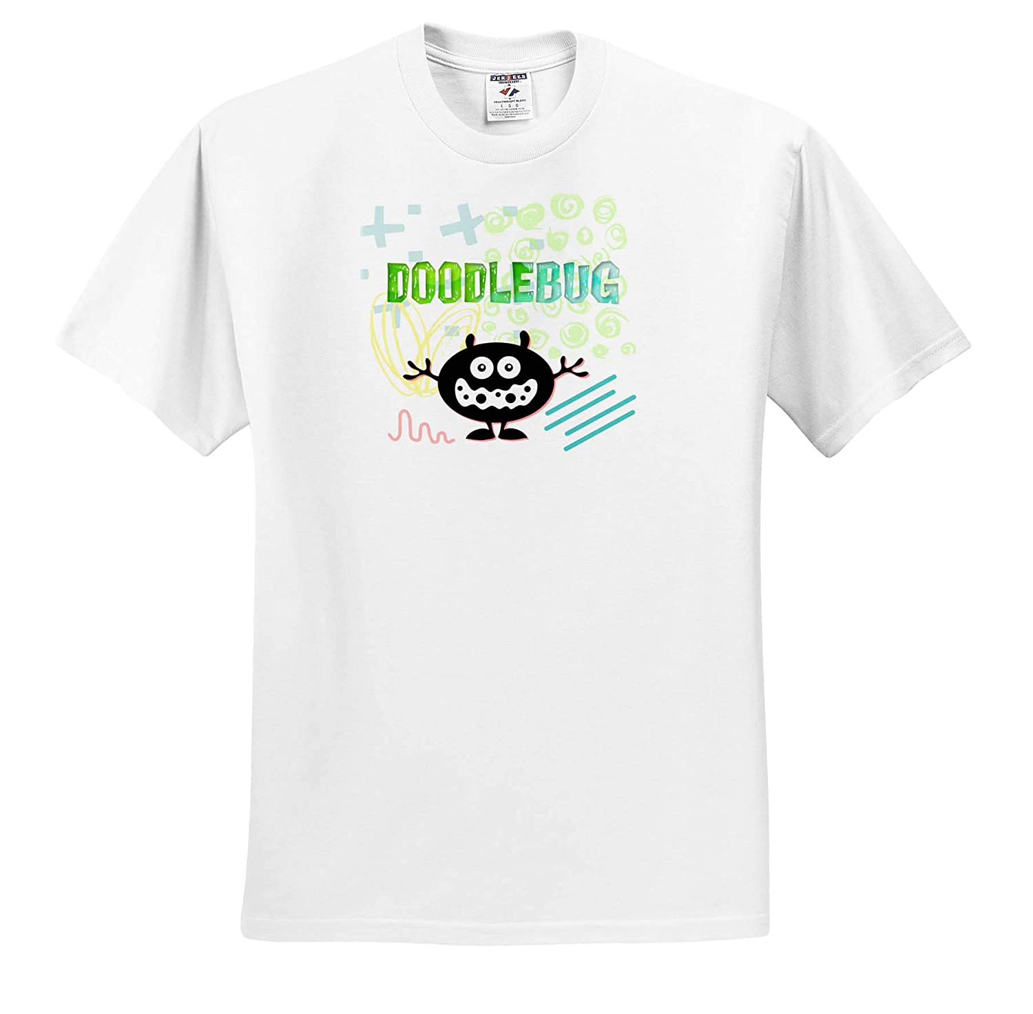 ts/_318623 Adult T-Shirt XL 3dRose Carrie Quote Image Image Quote of Doodlebug
