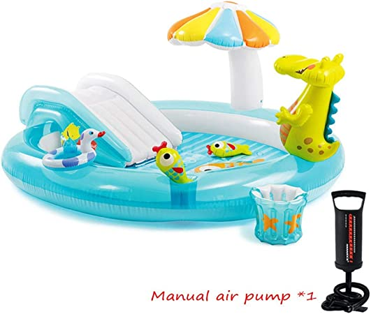 A~LICE&YGG Piscina Inflable Bebé Seguridad PVC Paddling Piscina ...