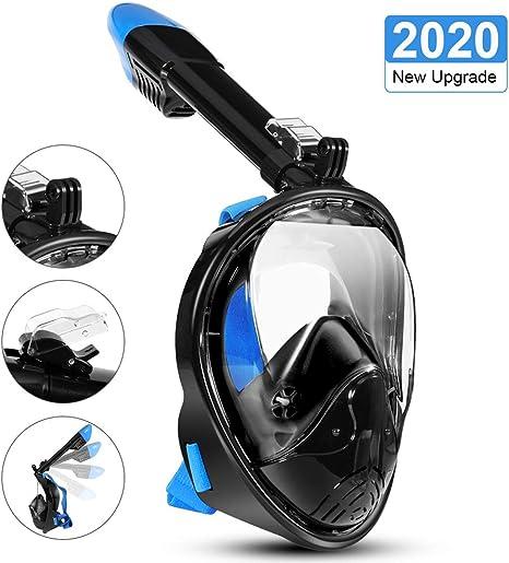 LALAYA Snorkel Mask 180 Degree Vision