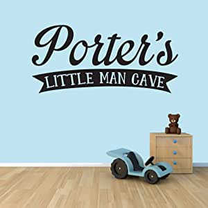 Custom Little Man Cave Wall Decals