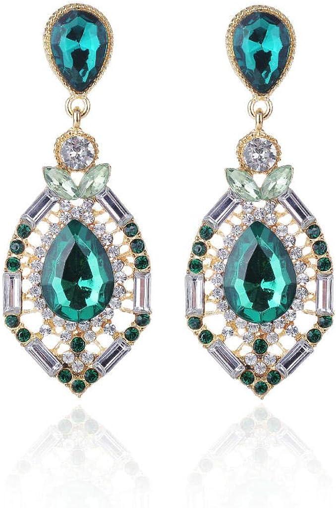 Pendientes retros colgantes, Pendientes de perlas, Regalo para el Día de la madre,Joyería de moda gota joya pendientes joyería