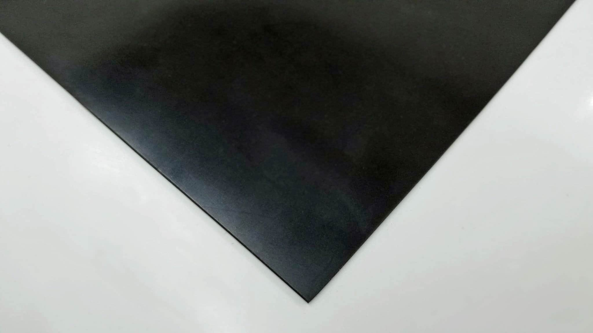 .062'' 1/16'' Neoprene Sheet All Purpose Rubber– 1/16in (1.5mm) Thick – Perfect For Gaskets, Liners, Weather Stripping, Much More - Commercial Grade 60A+/-5 Medium Hardness,