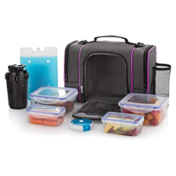 HomEquip Insulated Lunch Meal Prep Bag