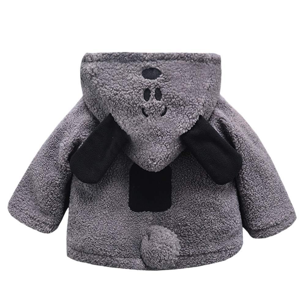 Cappotto Bimba Elegante Giacca Bambino Elegante Felpa Bambina 1 2 3 Anno Bambino Bambini Bambine Autunno Inverno Hooded Cappotto Mantello Giacca Spessa Vestiti