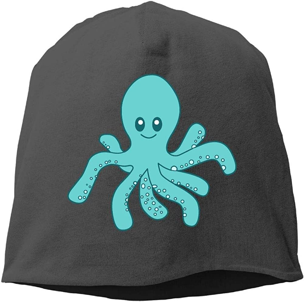 Janeither Headscarf Cute Octopus Hip-Hop Knitted Hat for Mens Womens Fashion Beanie Cap