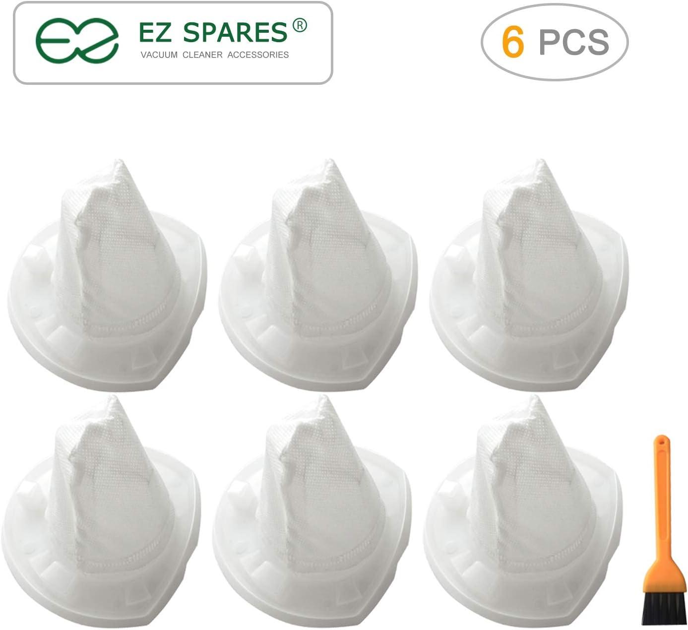 EZ SPARES Replacement for Filter,Black & Decker Filter,VF110 90558113 R CHV1410L CHV1510 CHV9610 CHV1210 CHV1410 CHV1410B BDH2000L(6PCS)