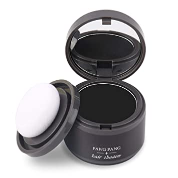 Amazon Com Magical Fluffy Thin Hair Powder Hair Line Shadow Makeup Hair Concealer Root Cover Up Instant Gray Coverage 4g 01 Brown Beauty