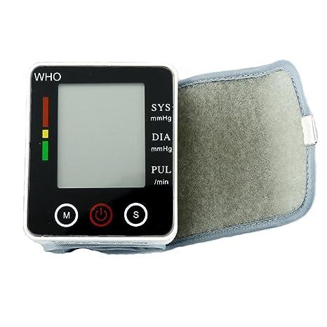 KOSHSH Pantalla Táctil Automático Digital Electrónico Tensiómetros De Presión Arterial Muñeca Medidor Presión Arterial Medidor Presión