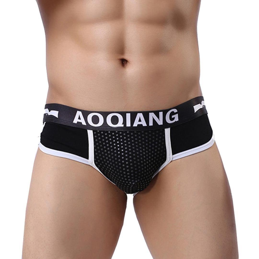 a94293b37a73 Top9: Pocciol Men\'s Underwear, Fashion Men\'s Cotton Boxer Briefs Bulge  Pouch Soft Shorts Underpants