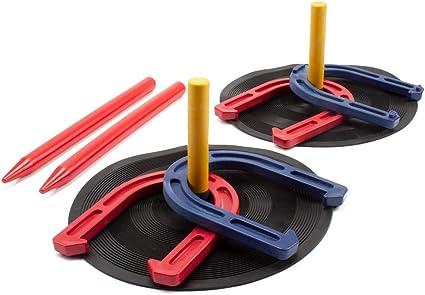 Champion Sports Indoor//Outdoor Rubber Horseshoe Set New