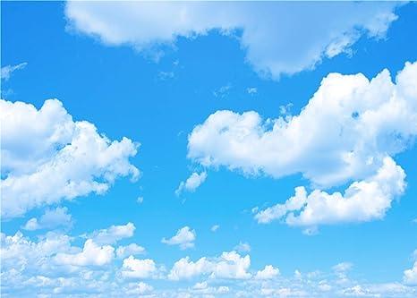 Daniu Blu Cielo Foto Sfondo Bianco Nuvole Fondale Fotografico Foto