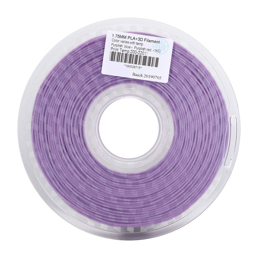 ASHATA Impresora 3D Filamento PLA Filamento, PLA 1.75 mm ...