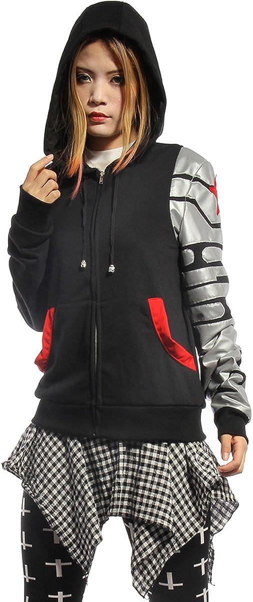 Fancy Super Soldier Style Zipper Jacket Hoodie Sweatshirt C 5 ☆ very popular San Antonio Mall Coat